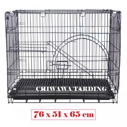 CG3【76 x 51 x 65cm】Pet Dog Cat Rabbit Cage Crate House Home / Rumah Haiwan Anjing Kucing Sangkar