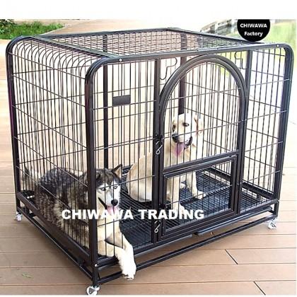CG2【78 x 53 x 70 cm】Dog Cat Rabbit Cage Pet Crate Cages Animal House Home Container Rumah Haiwan Sangkar Anjing Kucing