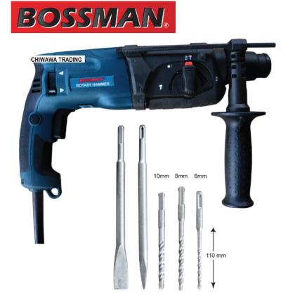 BOSSMAN BB2470 780W 24mm Rotary Hammer High Quality Drilling Machine